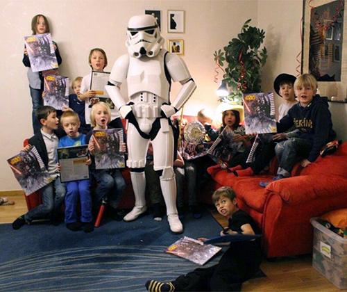 Hyr en star wars stormtrooper till event kalas