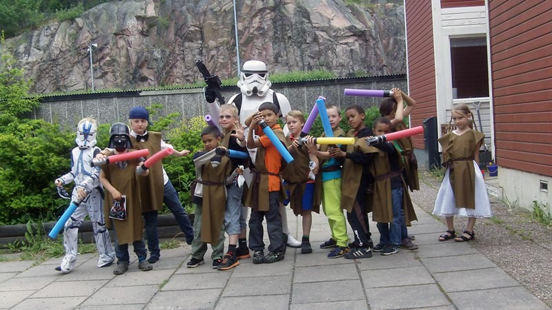 Boka en starwars stormtrooper