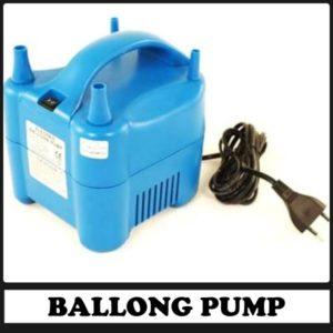 Hyr en elektrisk ballongpump