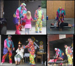 Boka en clown i norrland, sundsvall