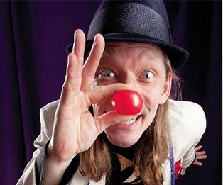 Boka cirkus, varite, humor och skoj till event.