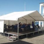 Tält och scen