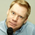 Komiker Mats Andersson boka Malmö