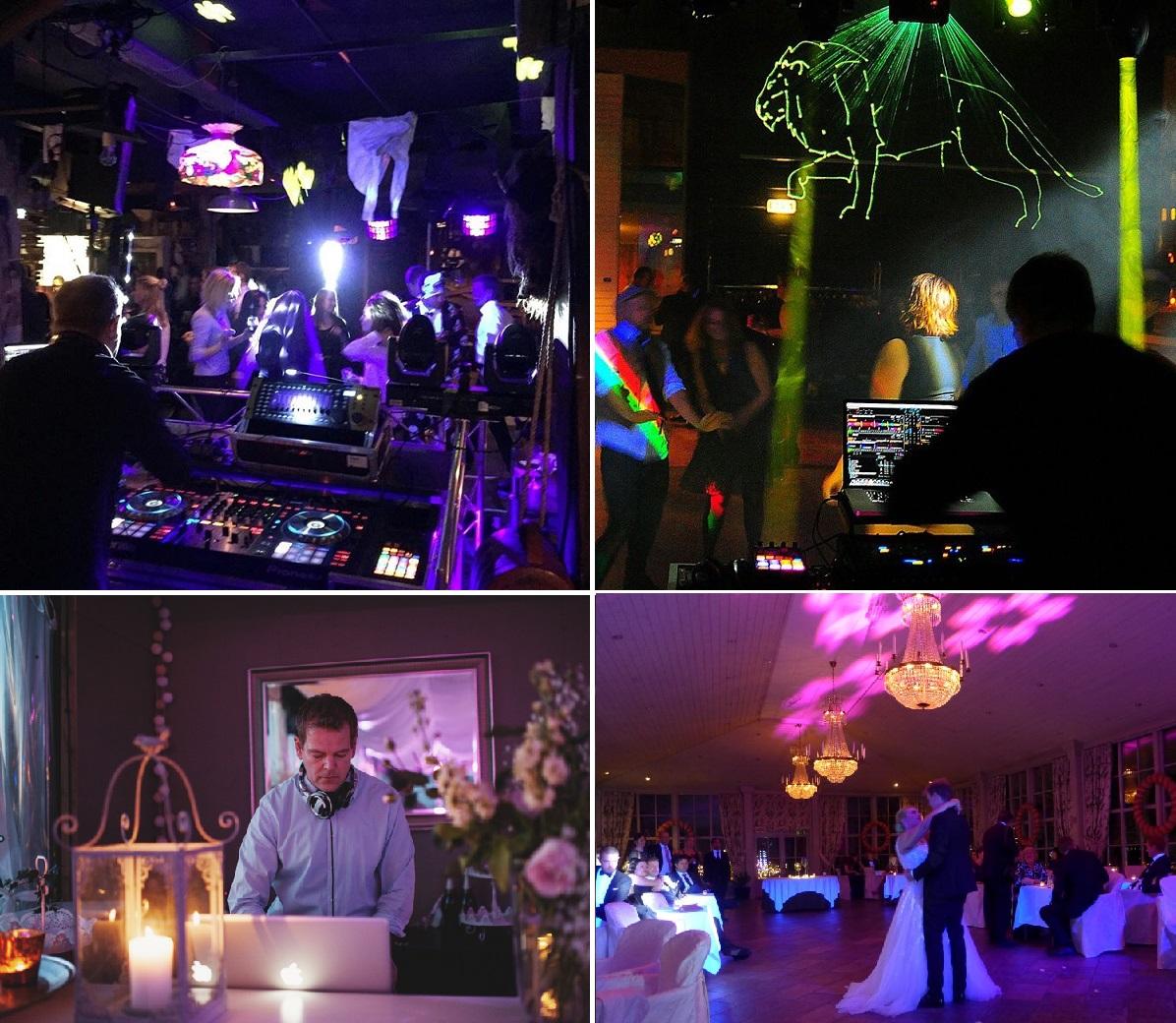 Erfaren DJ bröllop