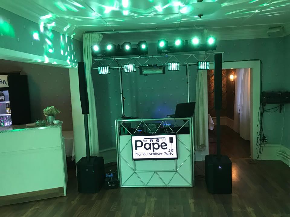 Boka DJ dalarna borlänge discojockey till firmafest
