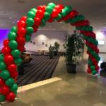 dekorera med ballongbåge, ballongdekoration, dekorera festen