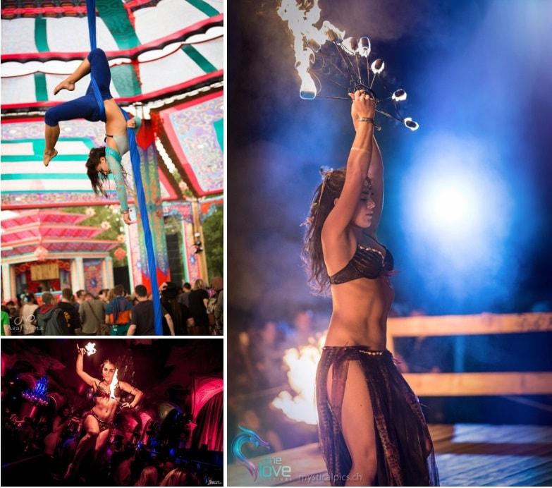 Boka eldasrtist, cirkus artist, jonglör med eld