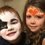 Ansiktsmålare barnkalas trosa, nyköping