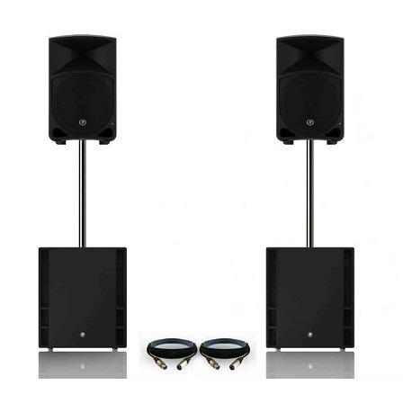 Hyra stora högtalare