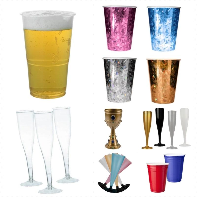 Glas och muggar
