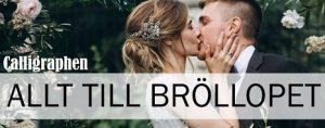 Annons till bröllop